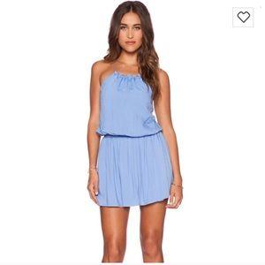 The Jetset Diaries Blue Radiant Strap Mini Dress